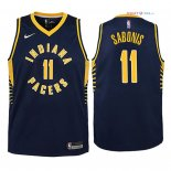 Indiana Pacers - Maillot Junior NBA Domantas Sabonis 11 Marine Icon 2018
