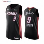 Miami Heat - Maillot NBA Kelly Olynyk 9 BLM Noir Icon 2020 Finales Champions
