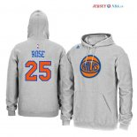 New York Knicks - Sweat Capuche NBA Derrick Rose 25 Gris