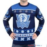 Dallas Mavericks - NBA Unisex Ugly Sweater Bleu