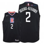 Los Angeles Clippers - Maillot Junior NBA Shai Gilgeous Alexander 2 Noir Statement 2018