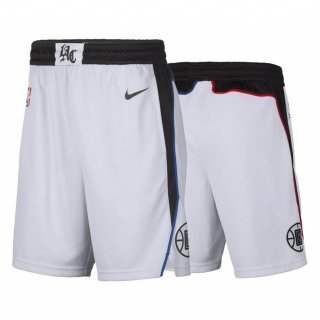 Los Angeles Clippers - Pantalon NBA Blanc Ville 2019-20