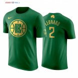 Los Angeles Clippers - Maillot NBA Kawhi Leonard 2 Vert Manche Courte