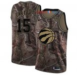 Toronto Raptors - Maillot NBA Vince Carter 15 Camo Swingman Collection Realtree 2018