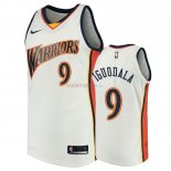 Golden State Warriors - Maillot NBA Andre Iguodala 9 Blanc Throwback