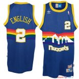 Denver Nuggets - Maillot NBA Alex English 2 Bleu