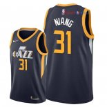 Utah Jazz - Maillot NBA Georges Niang 31 Marine Icon 2018