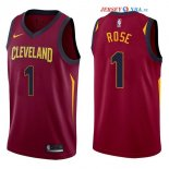 Cleveland Cavaliers - Maillot NBA Derrick Rose 1 Rouge Icon 2017/2018