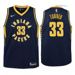 Indiana Pacers - Maillot Junior NBA Myles Turner 33 Marine Icon 2018