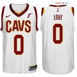Cleveland Cavaliers - Maillot NBA Kevin Love 0 Blanc 2017/2018