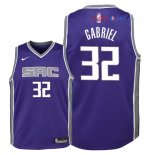 Sacramento Kings - Maillot Junior NBA Wenyen Gabriel 32 Pourpre Icon 2018