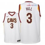 Cleveland Cavaliers - Maillot Junior NBA George Hill 3 Blanc Association 2018