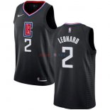 Los Angeles Clippers - Maillot NBA Kawhi Leonard 2 Noir Statement 2019-2020
