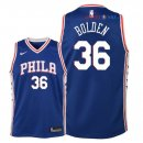 Philadelphia Sixers - Maillot Junior NBA Jonah Bolden 36 Bleu Icon 2018