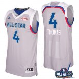 2017 All Star - Maillot NBA Isaiah Thomas 4 Gray