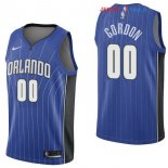 Orlando Magic - Maillot NBA Aaron Gordon 0 Bleu Icon 2017/2018