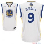 Golden State Warriors - Maillot NBA Andre Iguodala 9 Blanc