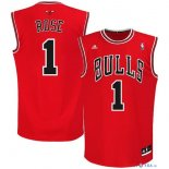 Chicago Bulls - Maillot NBA Derrick Rose 1 Rouge