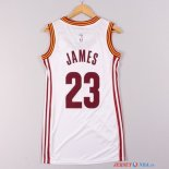 Cleveland Cavaliers - Maillot Femme NBA LeBron James 23 Blanc