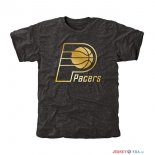 Indiana Pacers - T-Shirt NBA Noir Or