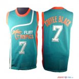 Film Basket-Ball - Maillot NBA Coffee 7 Noir Bleu Flint Hill