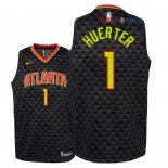 Atlanta Hawks - Maillot Junior NBA Justin Anderson 1 Noir Icon 2018/2019