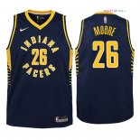 Indiana Pacers - Maillot Junior NBA Ben Moore 26 Marine Icon 2018