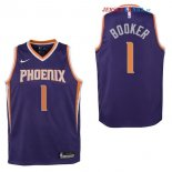 Phoenix Suns - Maillot Junior NBA Devin Booker 1 Pourpre Icon
