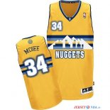 Denver Nuggets - Maillot NBA JaVale McGee 34 Jaune