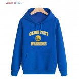Golden State Warriors-Sweat Capuche NBA Bleu Jaune