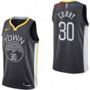 Golden State Warriors - Maillot NBA Stephen Curry 30 Noir Statement 2017/2018