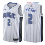 Orlando Magic - Maillot NBA Elfrid Payton 2 Blanc Association 2017/2018