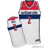 Washington Wizards - Maillot NBA John Wall 2 Blanc