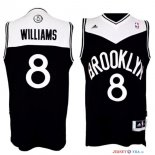 Brooklyn Nets - Maillot NBA Deron Michael Williams 8 Noir Blanc