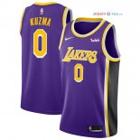 Los Angeles Lakers - Maillot NBA Kyle Kuzma 0 Pourpre 2018/2019