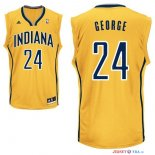 Indiana Pacers - Maillot NBA Paul George 24 Jaune