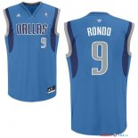 Dallas Mavericks - Maillot NBA Rajon Rondo 9 Bleu