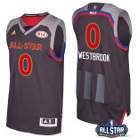 2017 All Star - Maillot NBA Russell Westbrook 0 Charbon