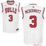 Chicago Bulls - Maillot NBA Doug McDermott 3 Blanc