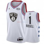 2019 All Star - Maillot NBA DAngelo Russell 1 Blanc