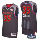 2017 All Star - Maillot NBA kevin Durant 35 Charbon