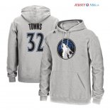 Minnesota Timberwolves - Sweat Capuche NBA Karl Anthony Towns 32 Gris