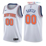 New York Knicks - Maillot NBA Enes Kanter 0 Blanc Statement 2017/2018