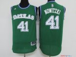 Dallas Mavericks - Maillot NBA Dirk Nowitzki 41 Vert