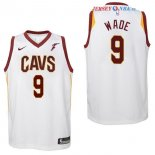 Cleveland Cavaliers - Maillot Junior NBA Dwyane Wade 9 Blanc