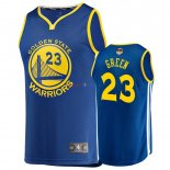 Golden State Warriors - Maillot NBA Draymond Green 23 Bleu Icon 2019 Finales Champions