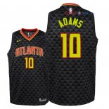 Atlanta Hawks - Maillot Junior NBA Jaylen Adams 10 Noir Icon 2018/2019