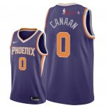 Phoenix Suns - Maillot NBA Isaiah Canaan 0 Pourpre Icon 2018