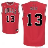 Chicago Bulls - Maillot NBA Joakim Noah 13 Rouge