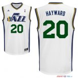 Utah Jazz - Maillot NBA Gordon Hayward 20 Blanc